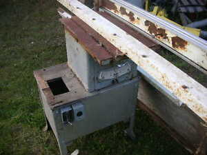 "OLD ROCKWELL 9"" TABLE SAW & ALIGN A RIP FENCE"
