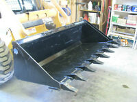 Skid Steer Tooth Buckets starting at $995.00