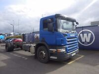 2009 Scania P230 4x2 Chassis Cab