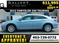 2012 Chrysler 200 TOURING $99 bi-weekly APPLY NOW DRIVE NOW