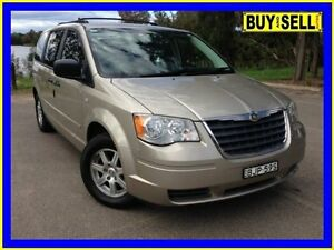 2009 Chrysler Grand Voyager RT LX Gold 6 Speed Automatic Wagon Lansvale Liverpool Area Preview