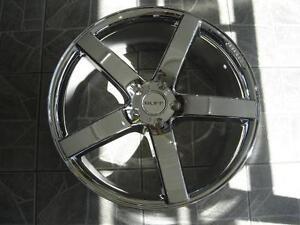 """Kit roues de mag avec pneus neufs 22"""" #M13"""