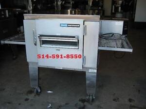 "LINCOLN four a pizza convoyeur au gaz / Conveyor oven gas 32"""