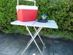 Oztrail Camp Table, Esky, Air Pump Greenslopes Brisbane South West Preview