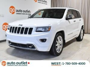 2014 Jeep Grand Cherokee Overland 4WD; Leather, Heated Seats, Na