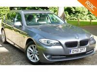2011 61 BMW 5 SERIES 2.0 520D SE TOURING 5D 181 BHP DIESEL MANUAL HIGH SPEC!