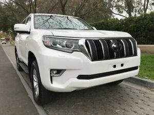 2018 Toyota Landcruiser Prado GDJ150R GXL White 6 Speed Sports Automatic Wagon Hawthorn Mitcham Area Preview