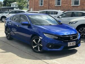 2017 Honda Civic 10th Gen MY17 RS Blue 1 Speed Constant Variable Sedan Chermside Brisbane North East Preview