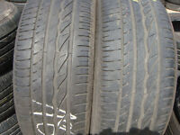 205/55/16 Bridgestone x2 A Pair, 6mm (168 High Road, Romford) Part Worn Tyres 215 225 195 60 45 15