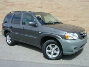 2006 Mazda Tribute GS 4X4. Loaded! V6 Auto!