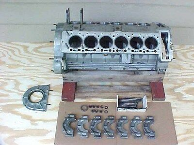 Lamborghini Engine Block CrankCase 400 GT V12 3.9 Litre 3929 cm 82mm Bore OEM