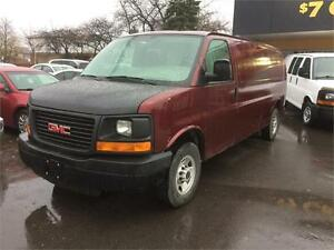 2007 GMC Savana Cargo Van, EXTENDED, 2 to choose from