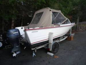 K+C 16' WITH YAMAHA 50-4 STROKE OUTBOARD