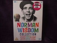 Norman Wisdom Collection 12 Disc-set (New Sealed)