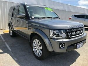 2016 Land Rover Discovery Series 4 L319 MY16.5 TDV6 Grey 8 Speed Sports Automatic Wagon