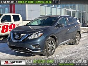 2015 Nissan Murano SL | Navi, Pano Moonroof, Leather