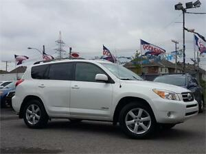 2007 Toyota RAV4 Limited/AUTO/4X4/7PASS/CRUISE/MAGS/TOIT/ELECT!!