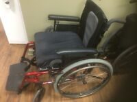 2 wheel chairs,purchased new, 6months old