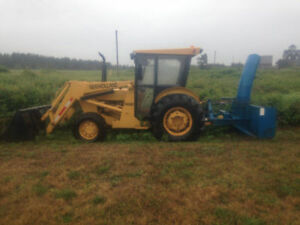 New Holland 545D 4x4 Commercial Tractor with Blower