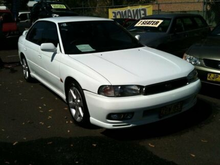 1998 Subaru Liberty RX White 5 Speed Manual Sedan Woodbine Campbelltown Area Preview