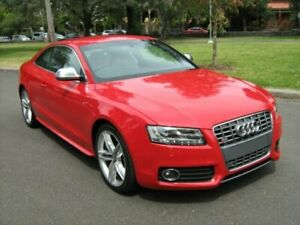 2007 Audi S5 8T 4.2 FSI Quattro Brilliant Red 6 Speed Manual Coupe North Melbourne Melbourne City Preview