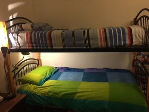 Bunk beds plus mattresses Brunswick East Moreland Area Preview
