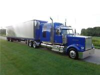 2011 WESTERN STAR & 2013 GREAT DANE REEFER TRAILER, PACKAGE DEAL