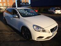 13 VOLVO V60 D4 R-DESIGN 163 BHP 5 DOOR DIESEL £30 A YEAR TAX