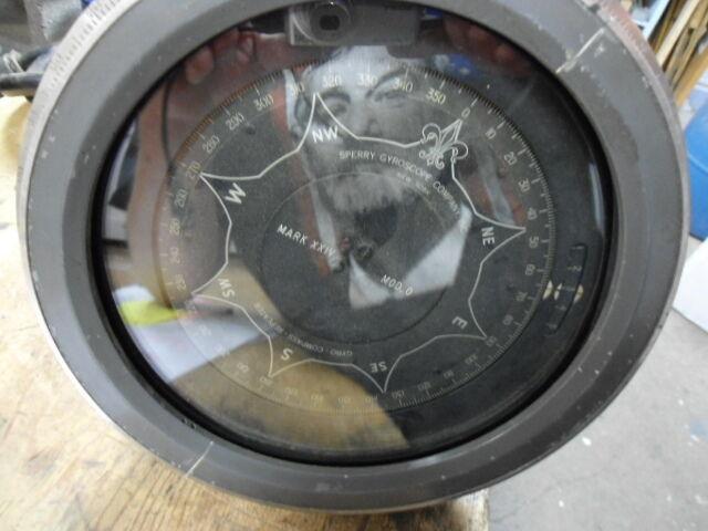 Sperry Gyroscope Co., INC Mark XXIV MOD O Ship Compass