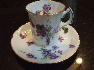Victorian violets,England countryside made in England hammersley