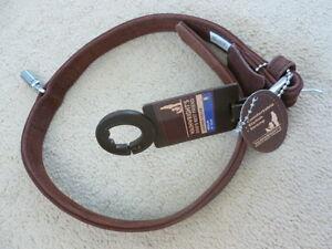 Wainwright's dog's best friend leather collar Size M,(41-51cm)