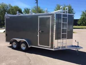 NEW 2018 XPRESS 7' x 14' ULTIMATE CONTRACTOR ENCLOSED TRAILER