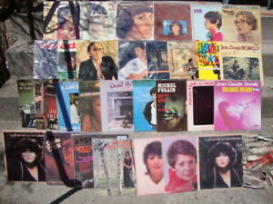 """French"" Vinyl LP Records...OVER 130 assorted albums"