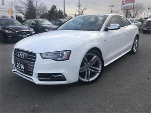 2014 Audi S5-TECHNIK-NAVI-REAR CAM-NO ACCIDENTS-ONE OWNER
