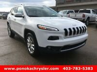 2016 Jeep Cherokee Limited, AWD, One owner