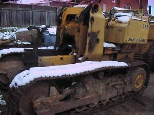 JOHN DEERE PARTING OUT 550 & 555