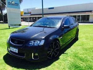 2012 Holden Commodore VE II MY12 SS-V Black 6 Speed Automatic Sportswagon Maddington Gosnells Area Preview
