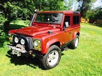 Land Rover Defender 90 2.5 TD5 Hard Top 3dr with Electric Winch Front/Back