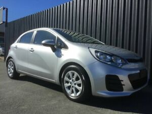 2016 Kia Rio UB MY16 S Silver 6 Speed Manual Hatchback