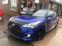 2013 Hyundai Veloster Turbo MANUAL $77* B/W ON THE ROAD Moncton New Brunswick Preview