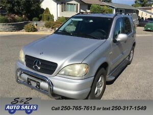 2001 Mercedes Benz ML-320 AWD 7 PASSENGER! LOW KM!