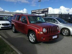 2011 Jeep Patriot MK MY09 Limited Burgundy 6 Speed CVT Auto Sequential Wagon Wangara Wanneroo Area Preview