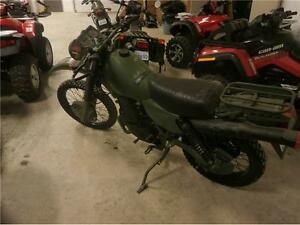 1996 HARLEY DAVIDSON MT 350 ON/OFF ROAD MILITARY BIKE$ $4995!!