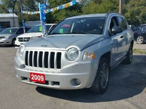 2009 Jeep Compass 4x4..certified