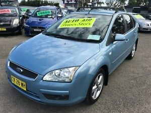 2005 Ford Focus LS LX Blue 4 Speed Automatic Hatchback Lansvale Liverpool Area Preview