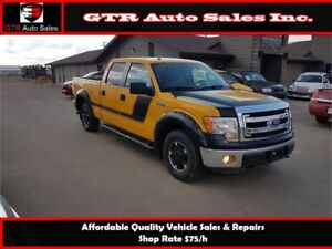 2013 Ford F-150 XLT Supercrew 4WD GREAT LOOKING CUSTOMIZED TRUCK