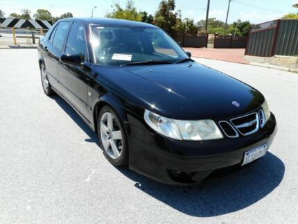 2005 Saab 9-5 MY04 Aero Black 5 Speed Auto Sentronic Sedan Mount Lawley Stirling Area Preview