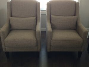 Mint condition pair of Decor-Rest chairs, Canadian made