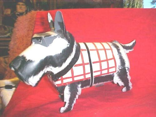 Vintage METAL Scottie Terrier Dog BOTTLE HOLDER