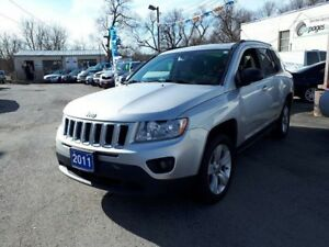 2011 Jeep Compass North Edition,certified..Low kms!